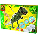SES Creative 14915 - Großer T-Rex Dino Bastelset