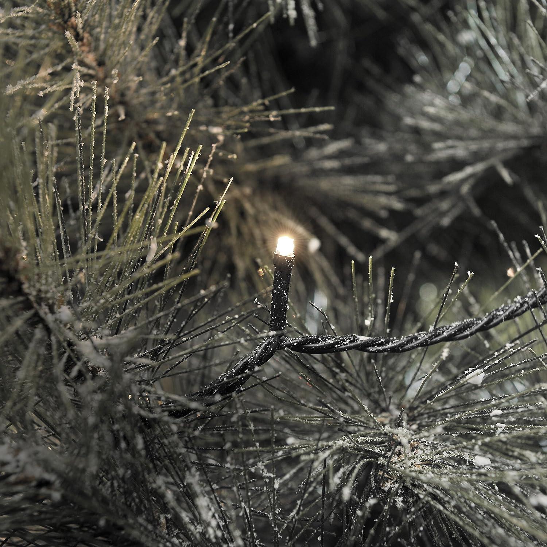 //  24V Au/ßentrafo Konstsmide 3611-110 Micro LED Lichterkette 80 warm wei/ße Dioden sschwarzes Kabel IP44 f/ür Au/ßen