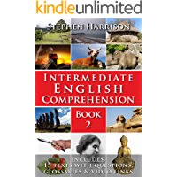 Intermediate English Comprehension - Book 2 (with AUDIO) (English Edition)