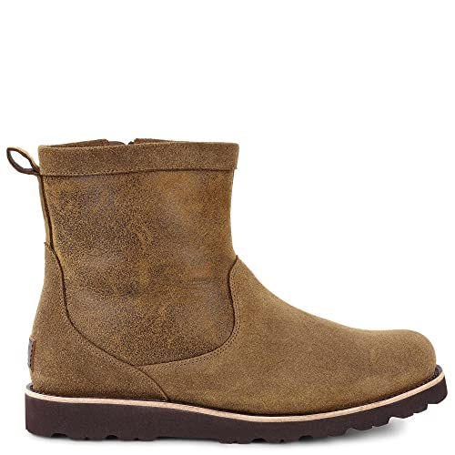 UGG Men's Hendren Bomber TL Bomber Jacket Chestnut Boot 7 D ...