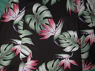 product image for Paradise Found Womens Monstera Paradise Short Tank Dress Black XS