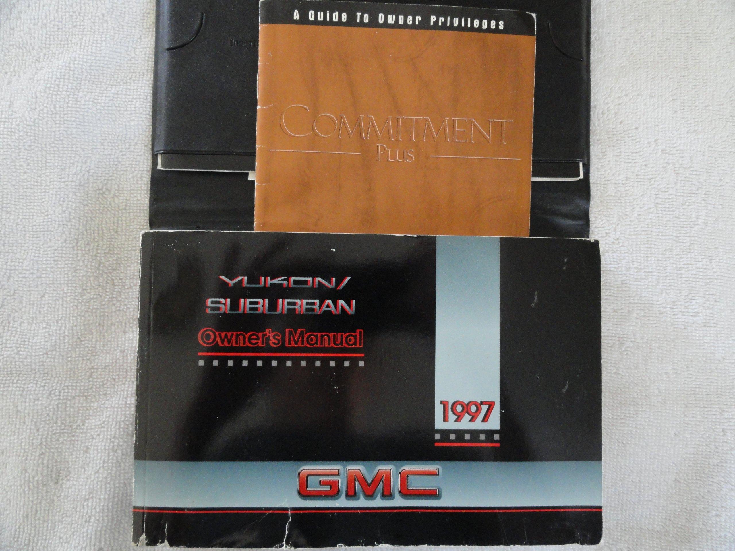 1997 gmc yukon chevy suburban owners manual general motors rh amazon com 1997 gmc suburban owners manual 2000 Suburban