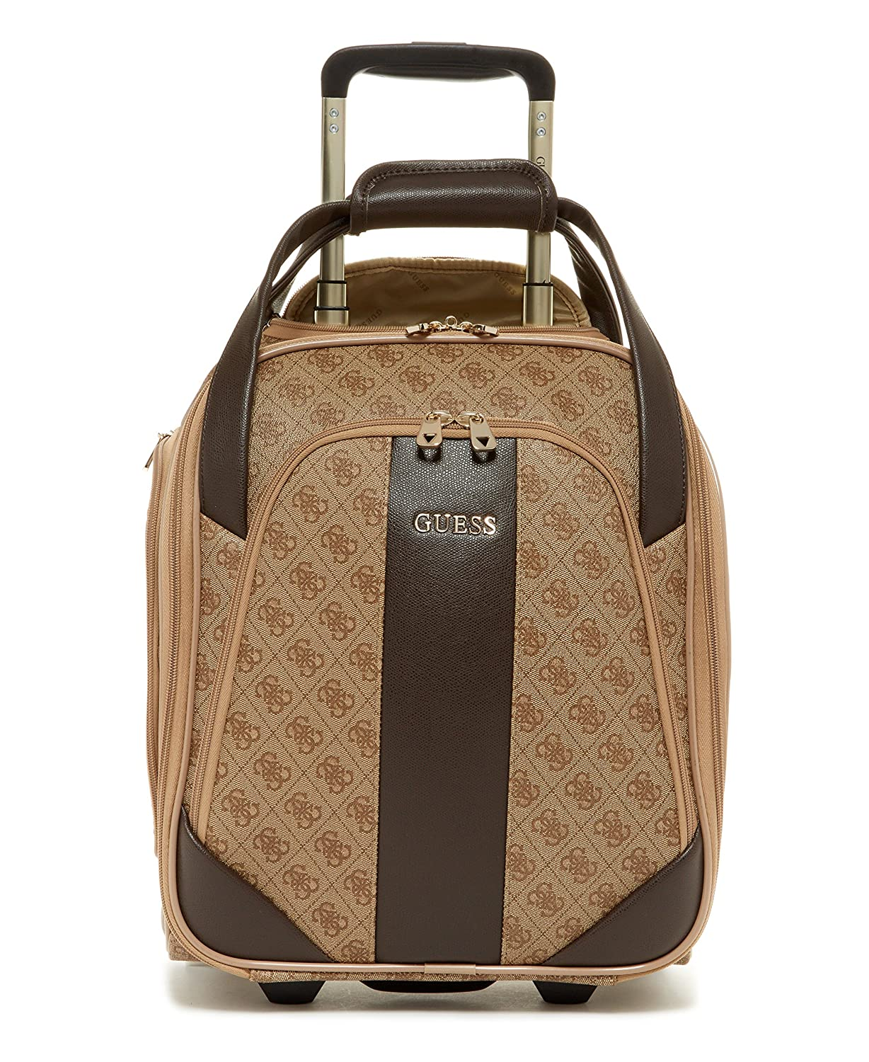 Guess, Trolley Adulti, Brown With Gold Hardware (marrone