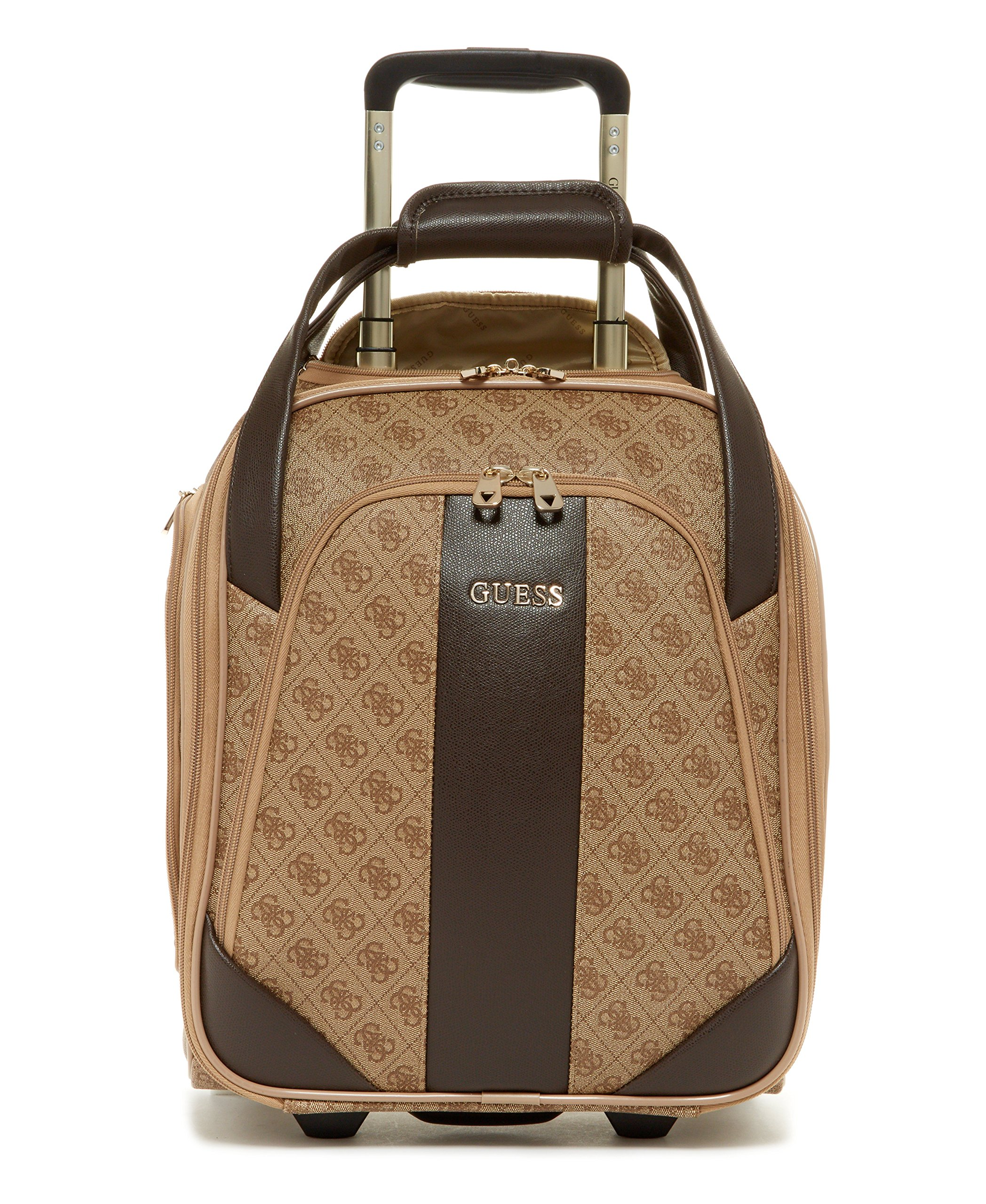 Guess Nissana Wheeled Underseater, Brown with Gold Hardware