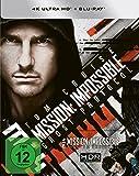 Mission: Impossible 4 - Phantom Protokoll (4K Ultra HD) (+ Blu-ray) limitiertes Steelbook [HD DVD] (exklusiv bei Amazon.de)