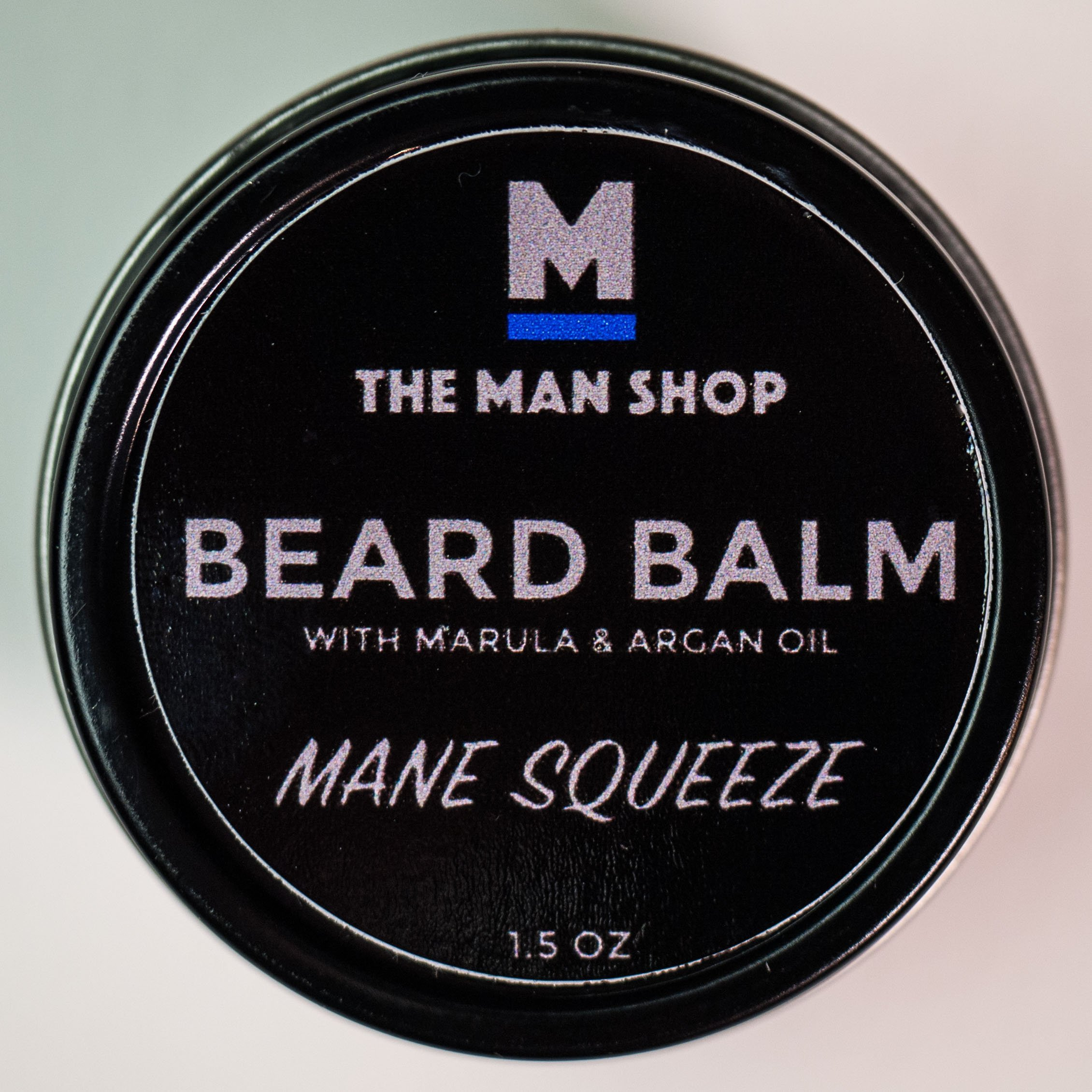 Mane Squeeze Beard Balm with Argan and Marula Oils - The Man Shop