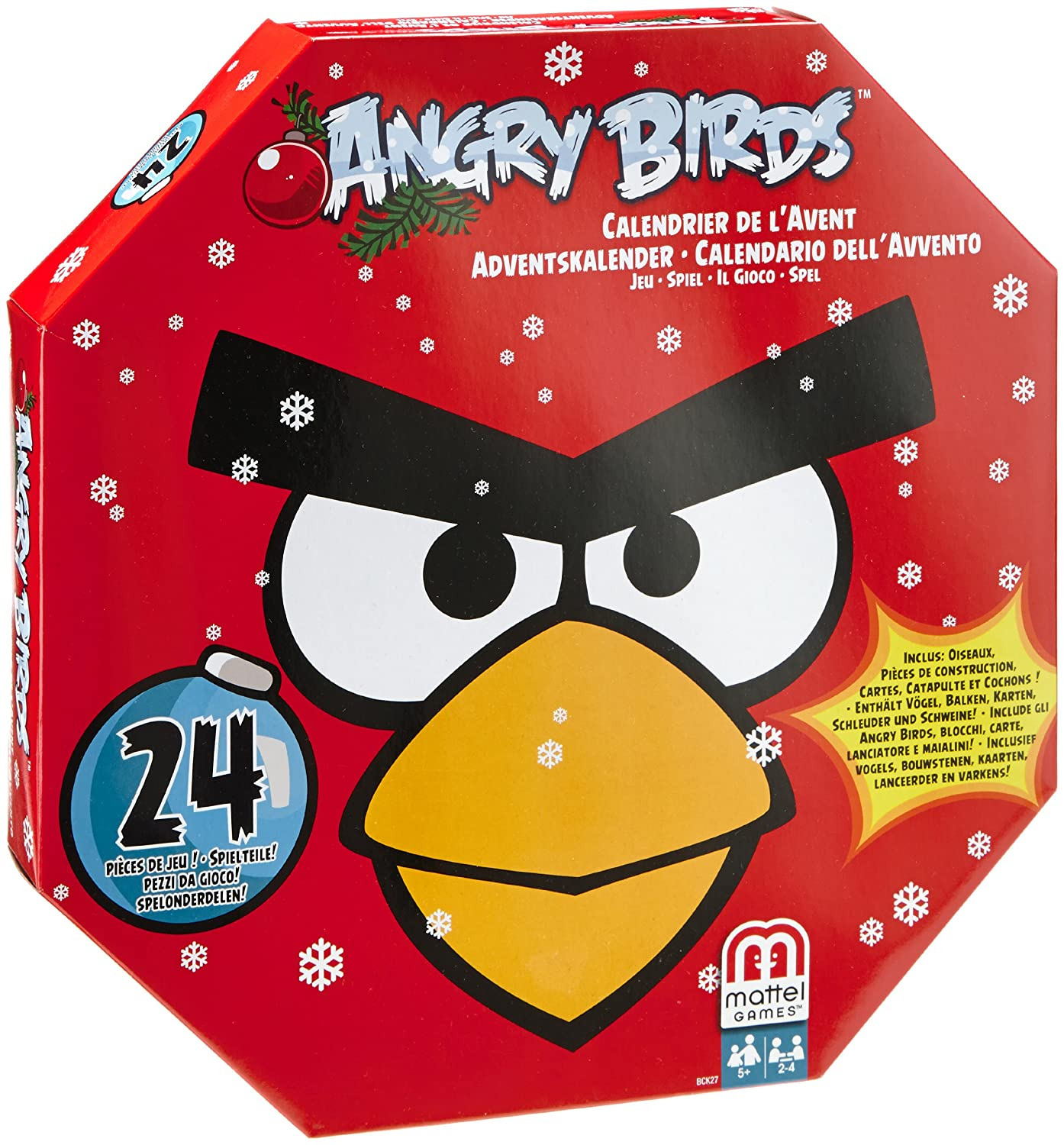 Angry Birds Advent Calendar Game