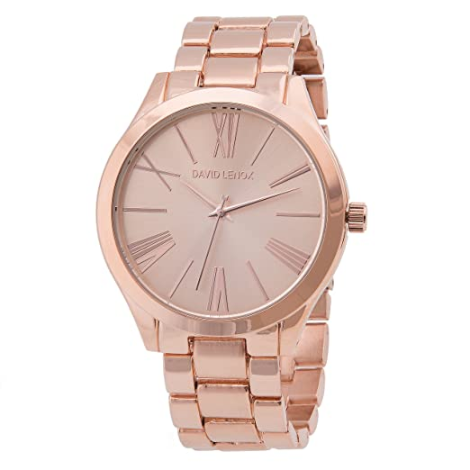 David Lenox ton or rose montre femme Michael Kors Runway Collection Style Dl0320