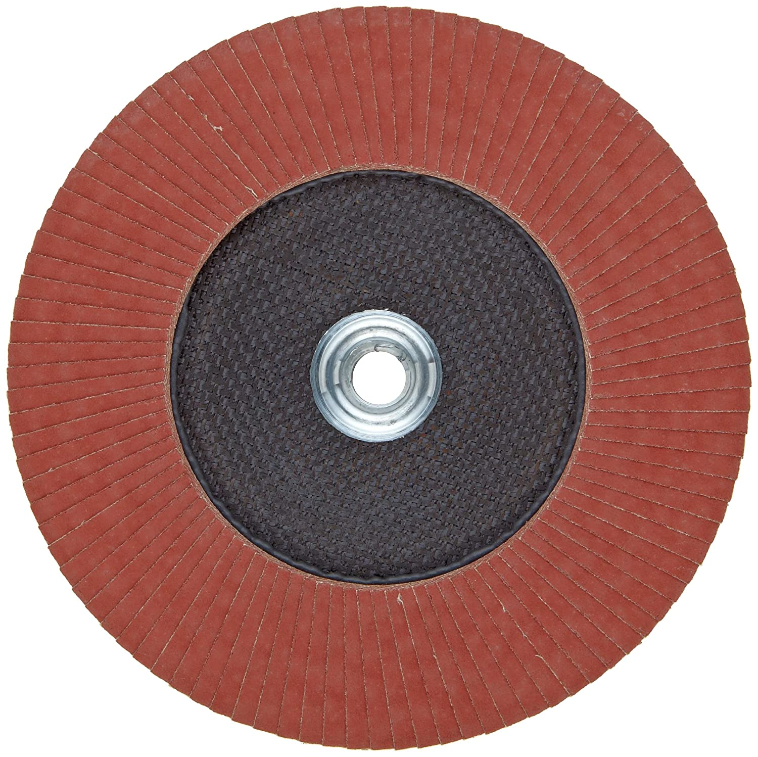 PFERD Polifan SG CO-COOL Abrasive Flap Disc Phenolic Resin Backing 120 Grit Type 29 Aluminum Oxide 4-1//2 Dia. Threaded Hole Pack of 1