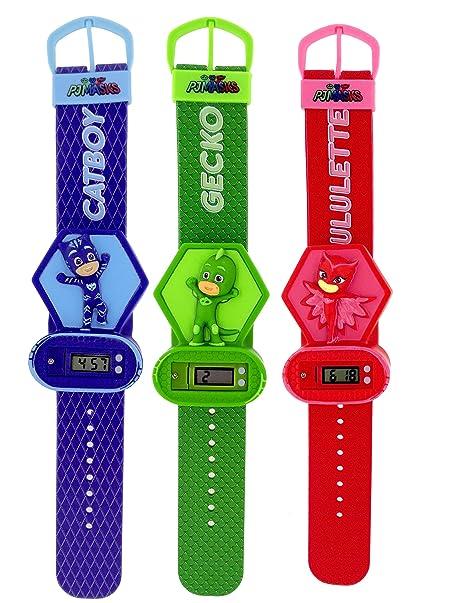 Joy Toy – bola de cristal (, Bikini entero, traje relojes LED, Multicolor