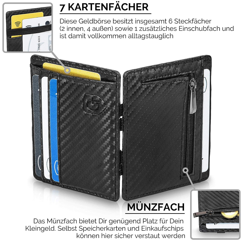 f58b097e477cf GenTo® Magic Wallet Vegas - TÜV geprüfter RFID