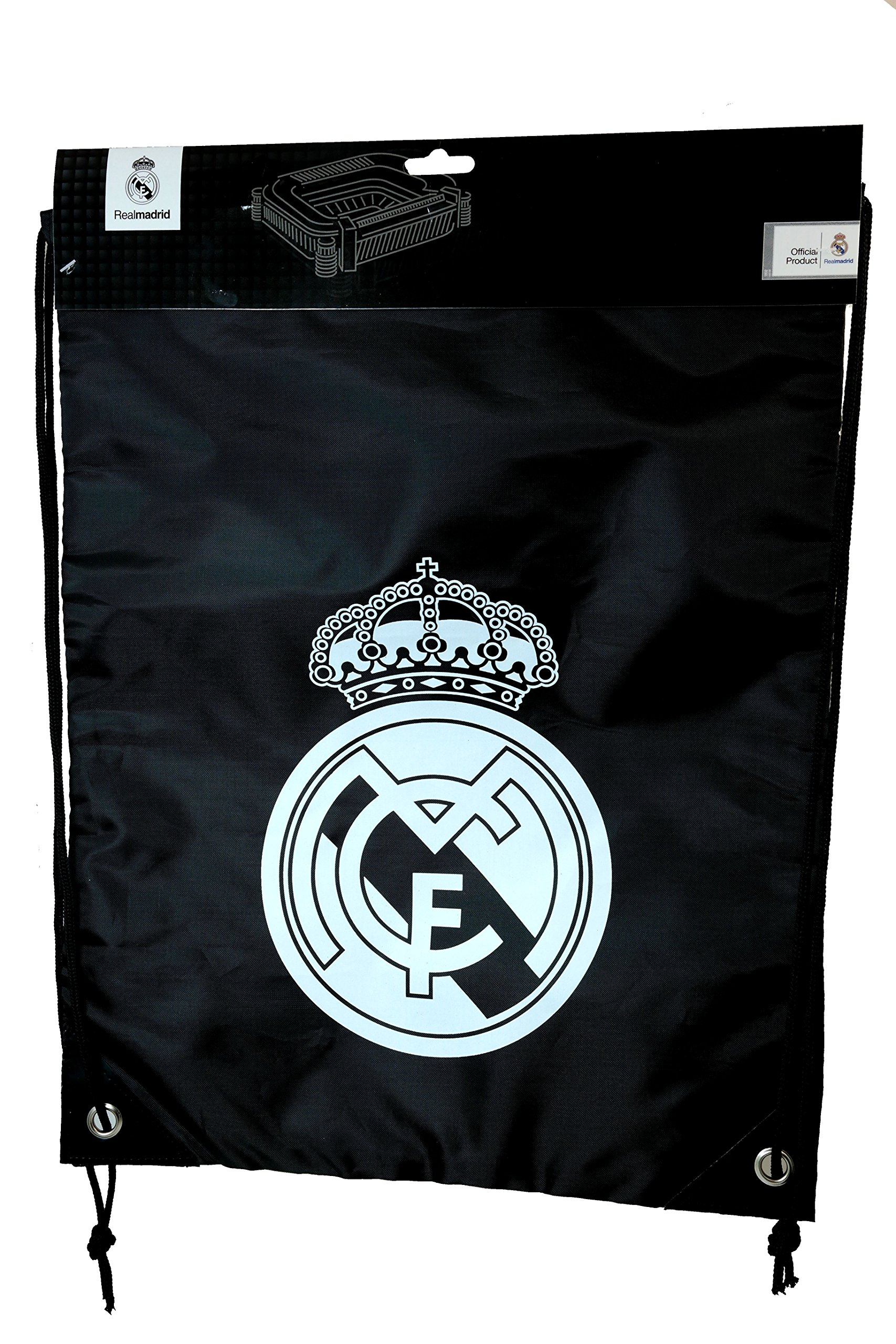 Real Madrid Authentic Official Licensed Soccer Drawstring Cinch Bag 01