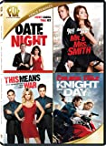 Date Night / Mr and Mrs Smith / This Means War / Day and Knight Quad Feature