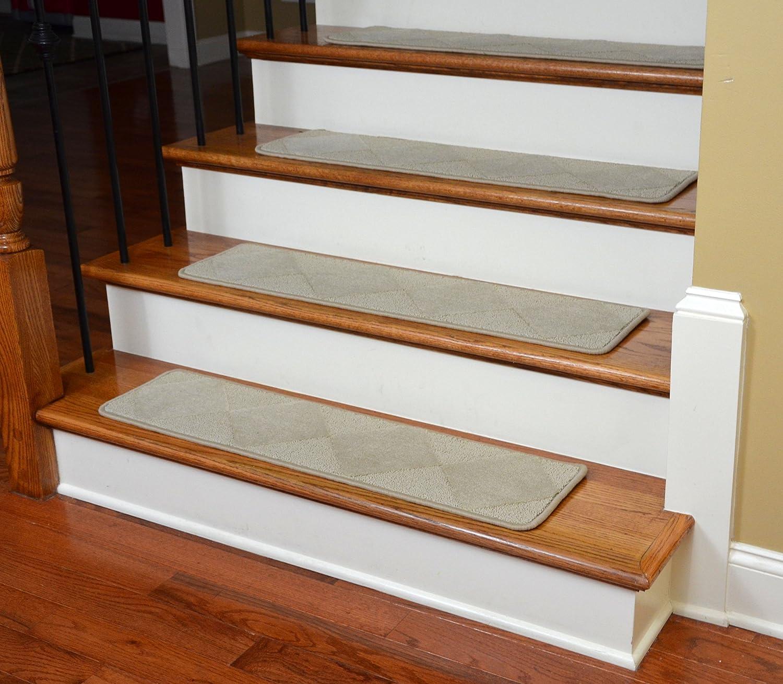 ... Dean Premium Serged Carpet Stair Treads Diamond Beige 35 ...