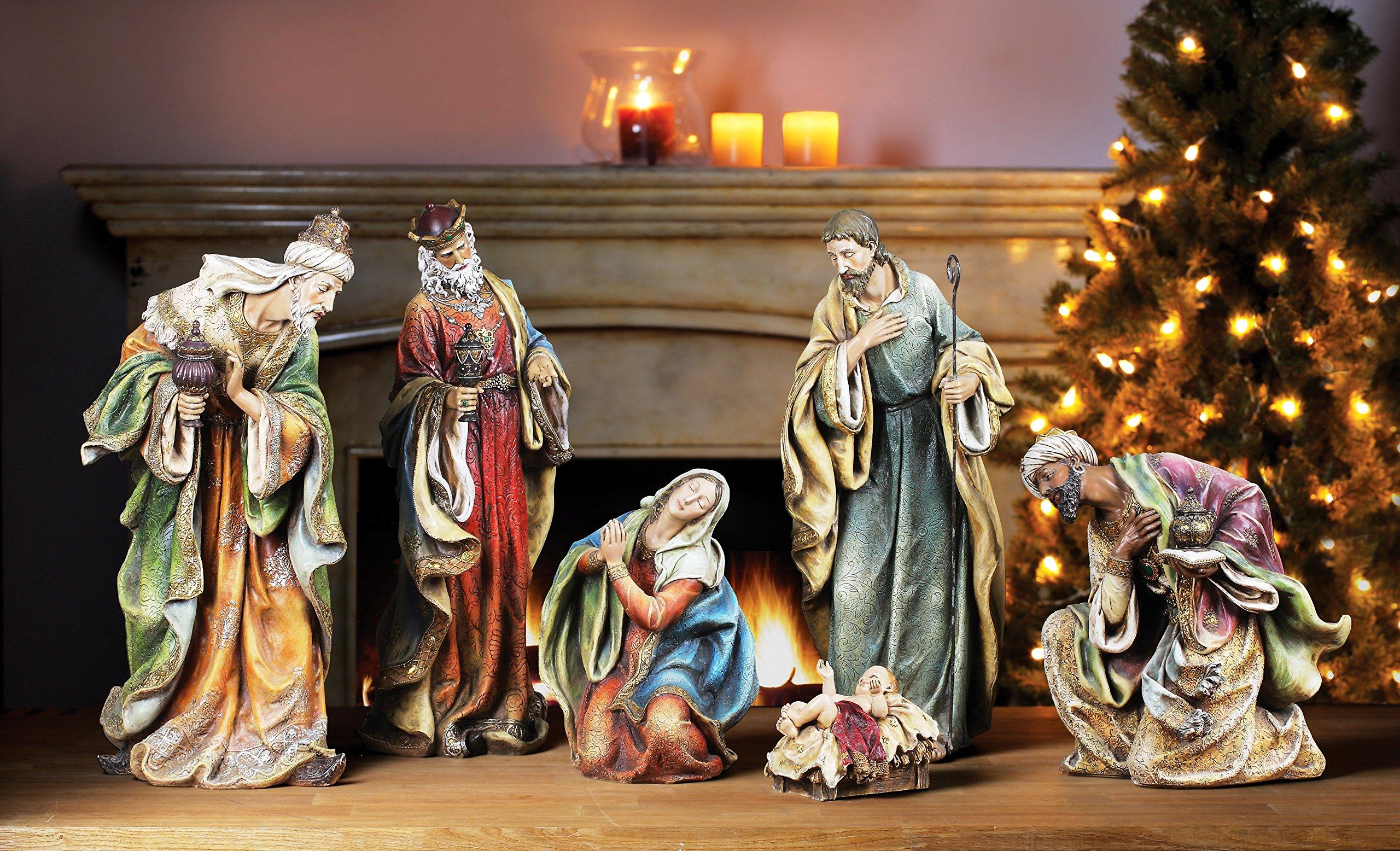 Napco Nativity Set, Set of 6 by Napco