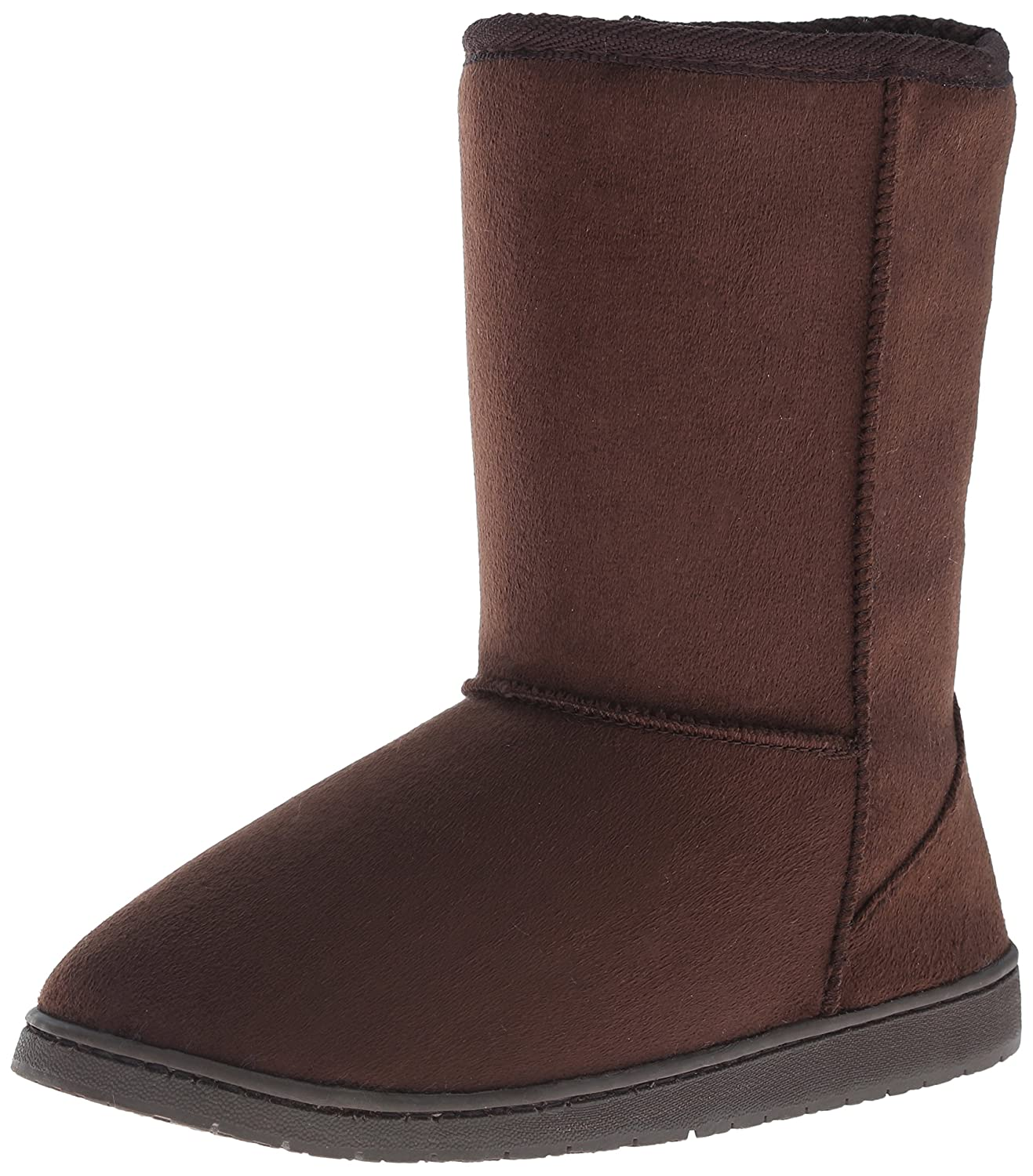 DAWGS Womens 9 Inch Faux Shearling Microfiber Vegan Winter Boots B001M5GXK8 10 B(M) US|Chocolate