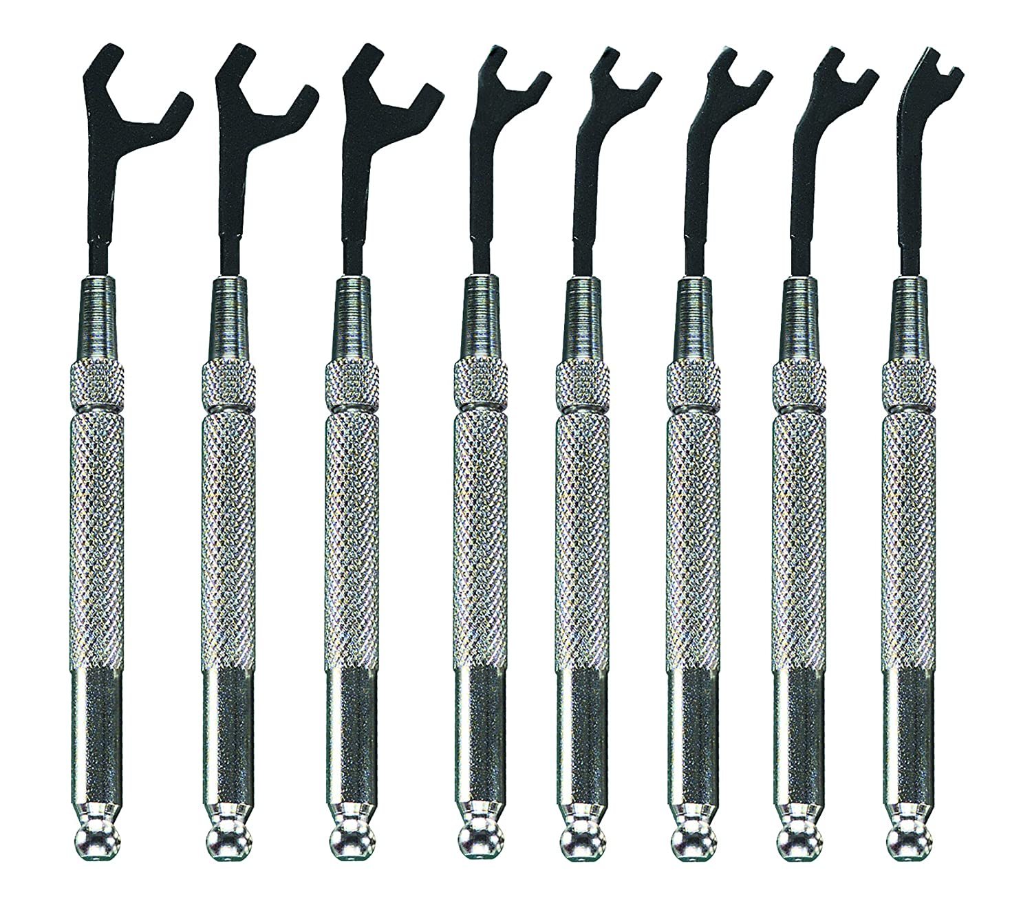 Moody Tools 58-0151 8-Piece Open End Wrench Set 003554