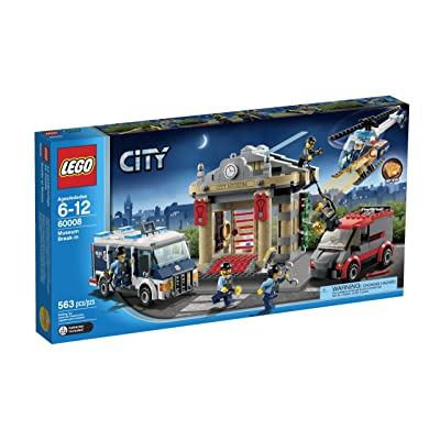 LEGO City Police Museum Break-in 60008: Toys & Games
