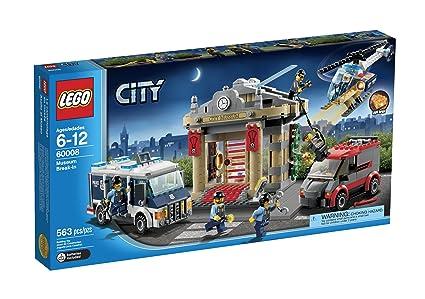 Amazoncom Lego City Police Museum Break In 60008 Toys Games