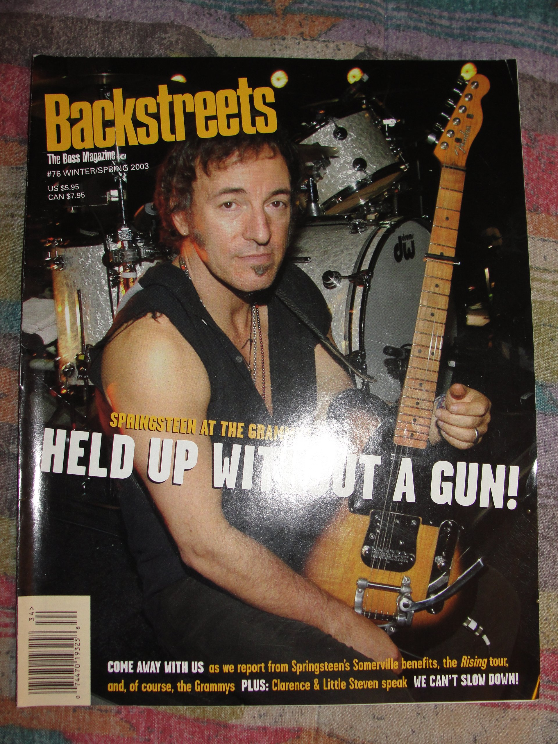 Backstreets Magazine #76, Winter / Spring 2003, Bruce Springsteen