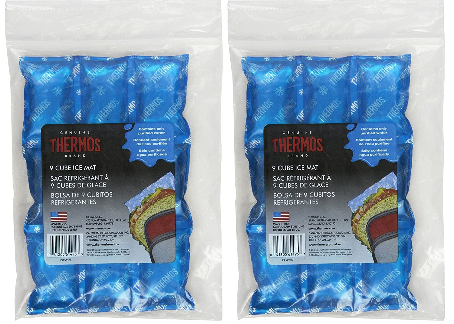 Thermos Ice Mat, 9 Cube - 2 Pack…