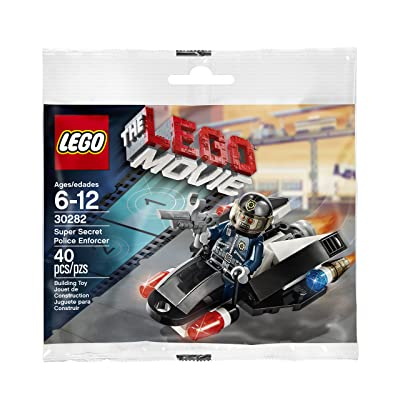 LEGO THE MOVIE SUPER SECRET POLICE ENFORCER 30282 by LEGO: Toys & Games