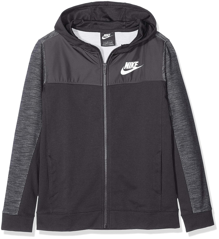 Nike B NSW Hoodie FZ Advance Chaqueta, Niños: Amazon.es: Deportes ...