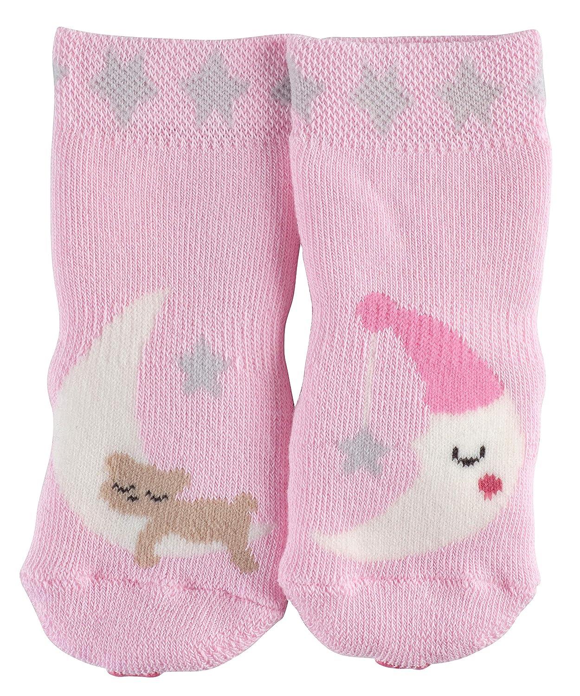 Marshmellow 8448 Rosa 1 Paar Baumwollmischung Gr/ö/ße: 62-68 FALKE Babys Socken Baby Sleep Well