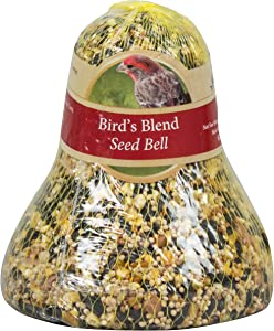 Heath Outdoor Products SC-11 14-Ounce Birds Blend Seed Cake Bell, 6-Pack