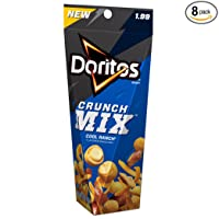 8-Pack Doritos Crunch Mix Cool Ranch Flavored Snack Mix 3 Ounce Deals