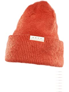 2ffcd84fc9f62 Amazon.com  NEFF Women s Lulu NEP-Yarn Fold Beanie with Pom