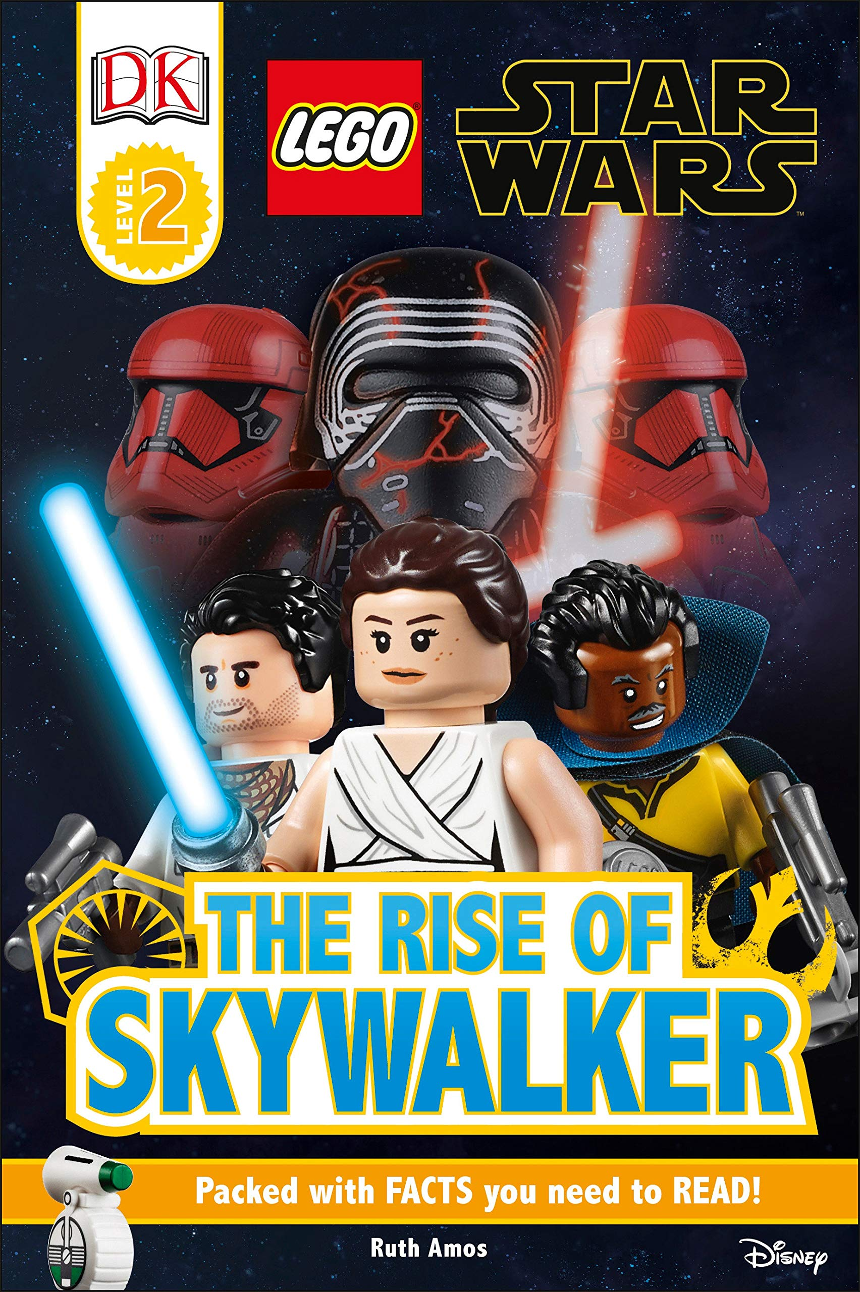 Amazon Com Dk Readers Level 2 Lego Star Wars The Rise Of Skywalker 9781465479075 Dk Amos Ruth Books