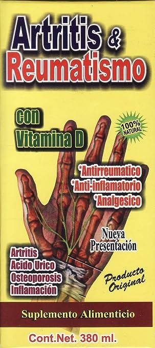 Jarabe para la Artritis y reumatismo 380 ml