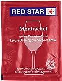 Wine Yeast (10 Packs) Montrachet Red Star for Wine Making