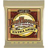 Ernie Ball Earthwood Extra Light 80/20 Bronze Acoustic Set