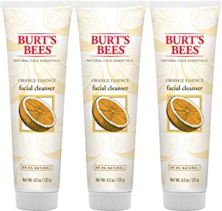 product image for Burt's Bees Orange Essence Facial Cleanser, Sulfate-Free Face Wash, 4.3 Oz (Package May Vary)