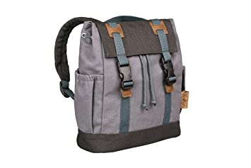 Lassig Kids Vintage Little One /& Me Backpack Small Blue
