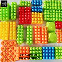 FRATELLI® Building Blocks for Kids - Certified European Saftey Standards (100+PCS Bag Packing, Best Gift Toy, Block Game for Kids,Boys,Children)
