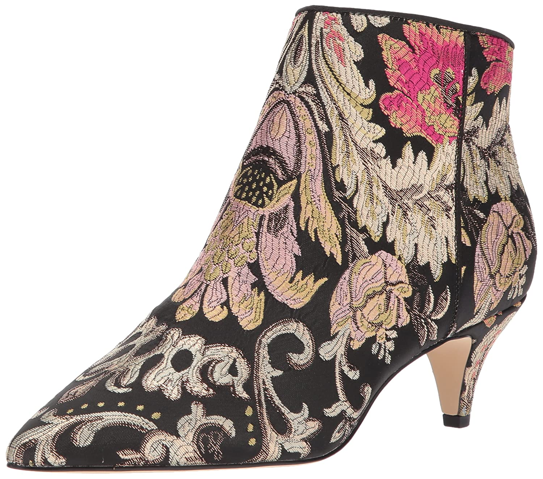 Sam Edelman Women's Kinzey Fashion Boot B06XC9B464 5.5 B(M) US Black/Multi Venezia Metallic Jacquard