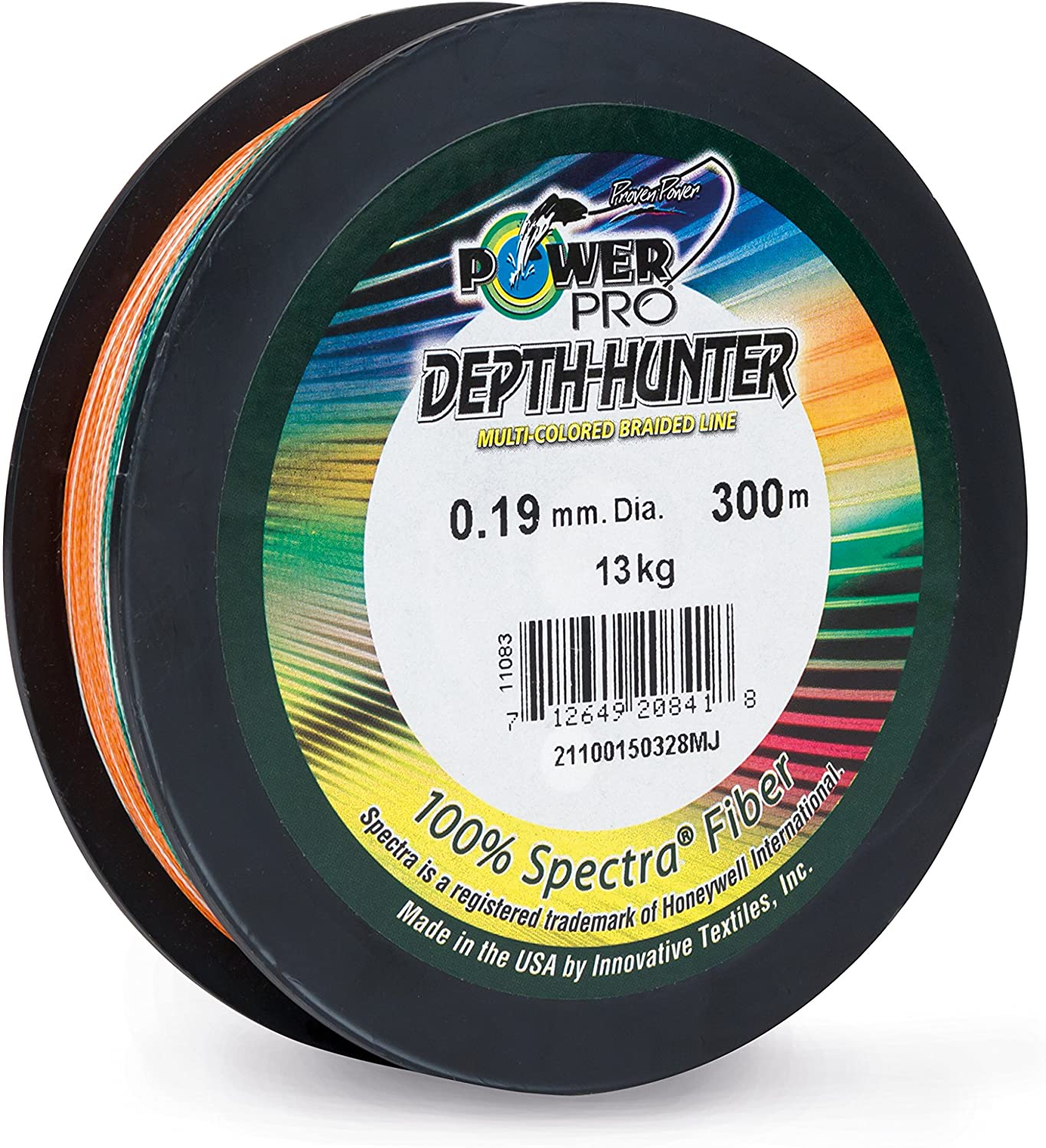 Power Pro Depth-Hunter Multi Colour - Hilo de pescar trenzado (300 ...
