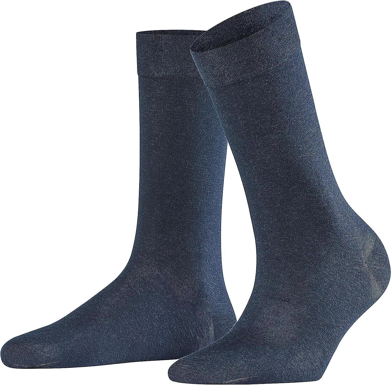 Cotton//Cashmere Blend FALKE Womens Sensual Cashmere Dress Sock US sizes 5 to 10.5 Multiple Colors 1 Pair
