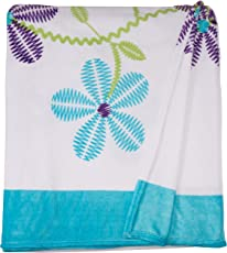 Colchas Concord Aurora Cobertor Ultrasuave, color Blanco, King