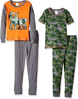 a53b2565be33 Amazon.com  Carter s Boys  4 Piece Cotton Sleepwear  Clothing