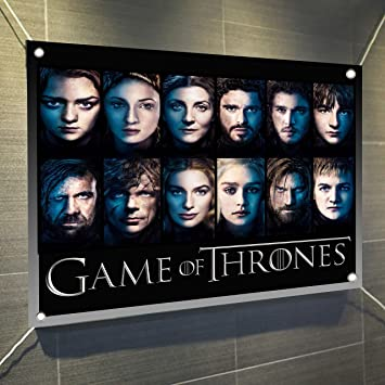 Game of Thrones Faces Banner Large Vinyl Indoor Or Outdoor Banner Sign  Poster Backdrop 4cbb82680