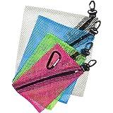 ZipClikGo Steckbare Netz Organizer-Taschen Multi-Zweck Lagerung Zip-Beutel in vier Größen und Farben, leicht zu erreichen