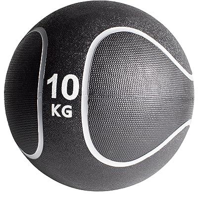 Gorilla Sports Médecine ball style noir/gris de 1kg à 10kg