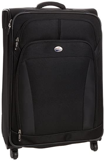 fefc9a9ff3f American Tourister Luggage Ilite Dlx 29 Inch Spinner, Black, One Size