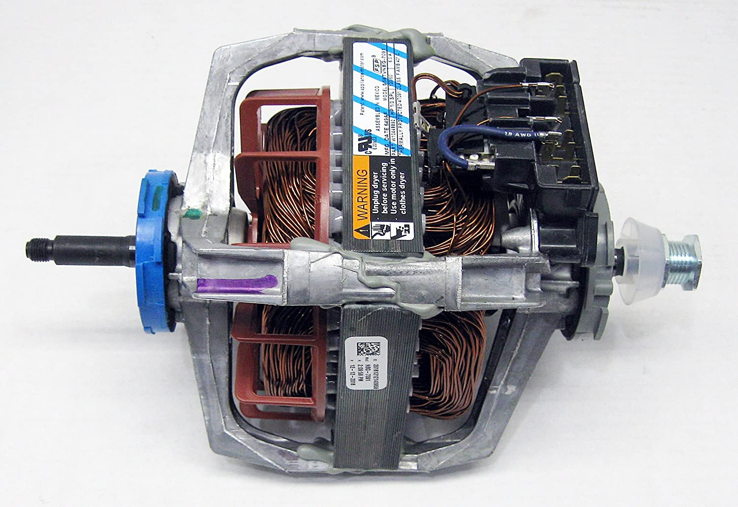 Diagram Dryer Wiring Whirlpool Le6800xp New Replacement Part Drive Motor For Sears Kenmore 8066206 Home Improvement