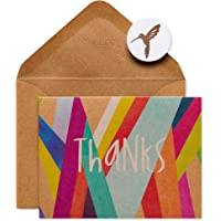 Papyrus Thank You Cards with Envelopes, Colorful Geometrics (16-Count)