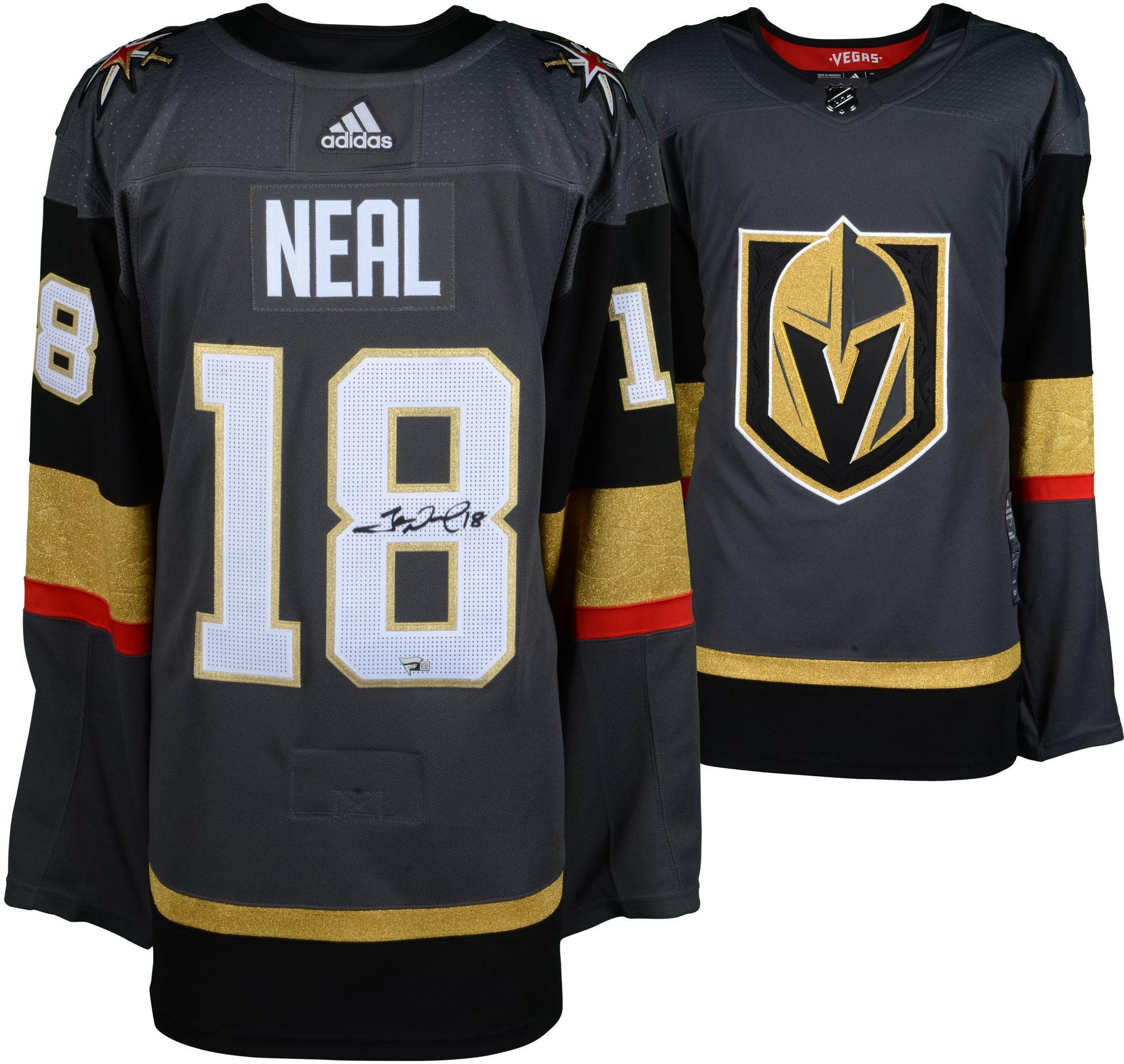 41573dbc0 James Neal Vegas Golden Knights Autographed Black Adidas Authentic Jersey – Fanatics  Authentic Certified